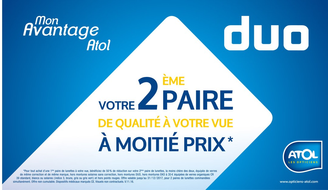 Offre DUO Atol