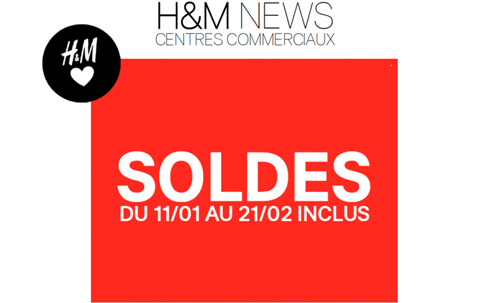SOLDES HIVER H&M