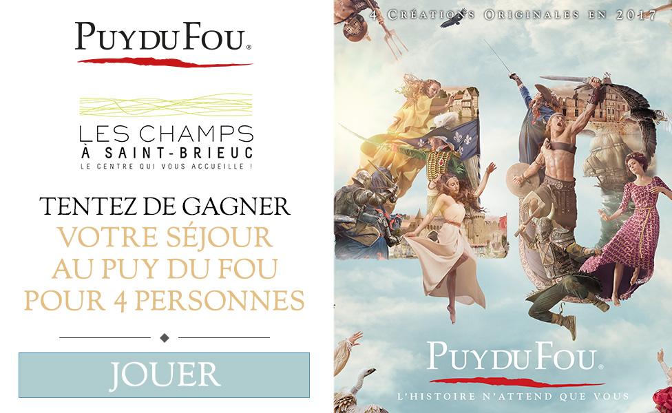 le Puy du Fou à votre rencontre dans les Champs