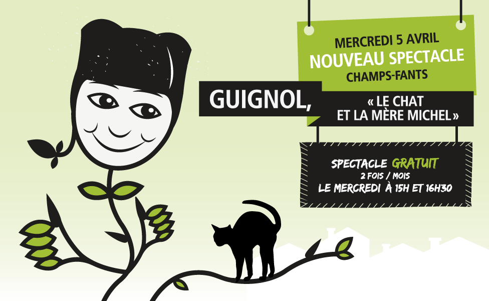 Guignol et le chat de la mère Michel