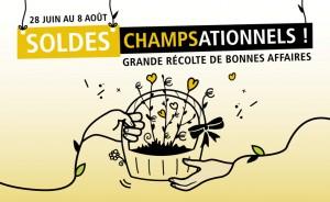 Soldes Champsationnels - Eté 2017