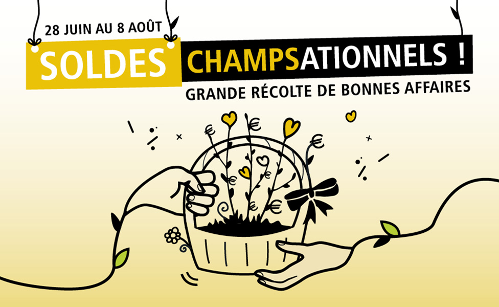 Soldes Champsationnels – Eté 2017