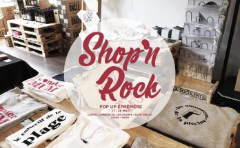 Shop'n Rock – Boutique éphémère