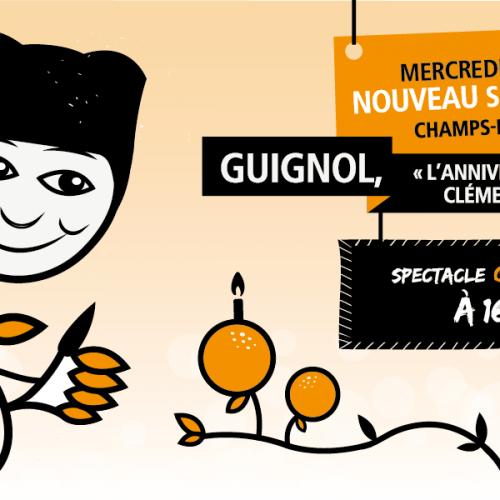 Spectacle de marionnettes – L'anniversaire de Clémentine