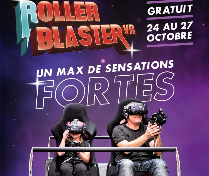 #ROLLER BLASTER VR dans les Champs – animation futuriste et originale en réalité virtuelle