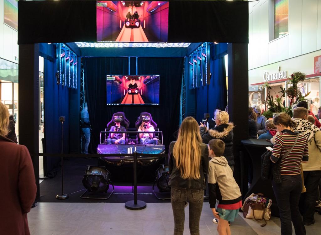 animation roller blaster dans les Champs